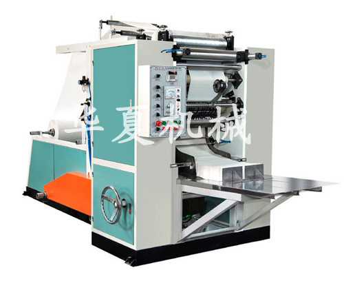 box-drawing face tissue paper machine