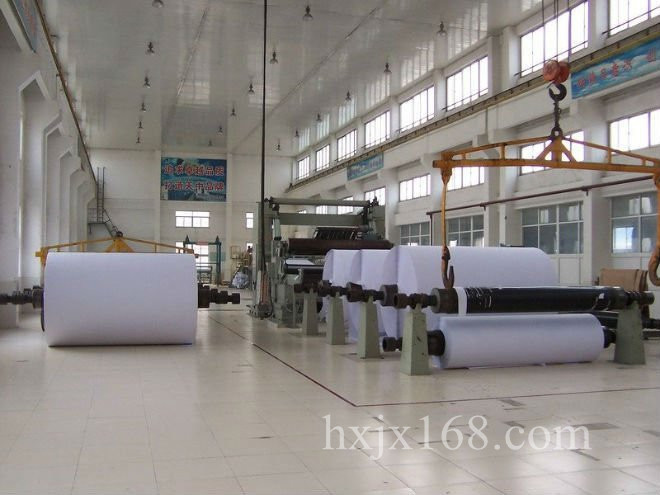 787 model 1-2 t/d wrting paper machine